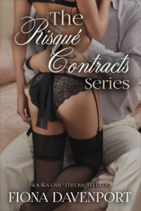 Book Cover: The Risque Contracts Series Box Set
