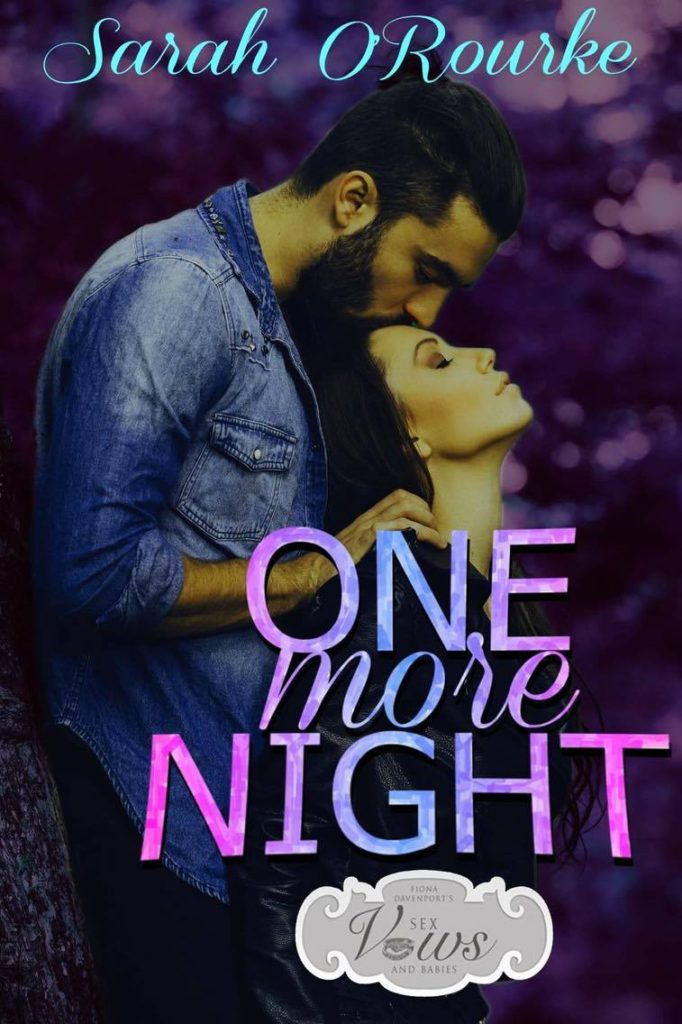 Book Cover: One More Night by Sarah O'Rourke