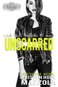 Book Cover: Unscarred (An Unacceptable MC Novella) by Kristen Hope Mazzola